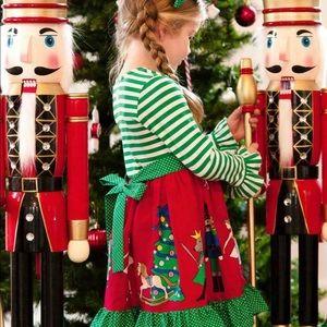 Eleanor Rose Rhonda Nutcracker Christmas Dress
